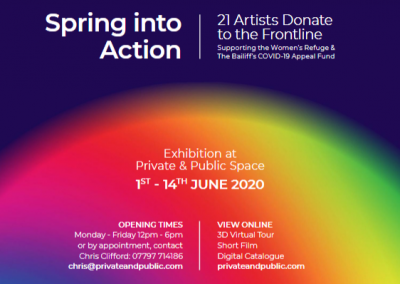 Spring into Action – 21 Artists Donate to the Frontline